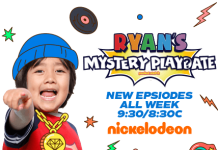 Ryan's Mystery Playdate Sweepstakes