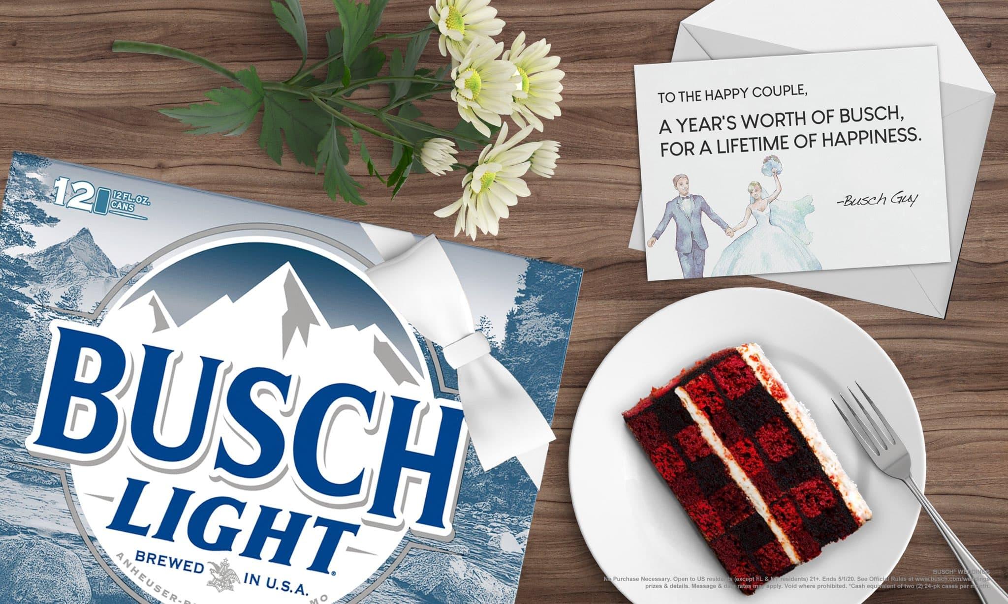 Busch Beer Wedding Contest 2020