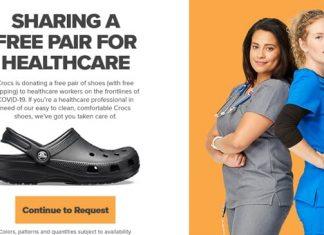 Crocs Healthcare Giveaway