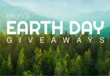 Ellen DeGeneres Earth Day 2020 Giveaways