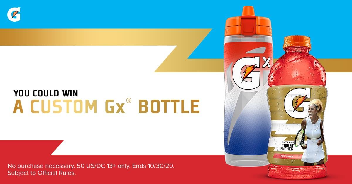 Gatorade Gx Bottle Instant Win 2020