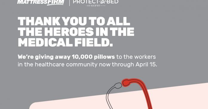Mattress Firm Healthcare Giveaway