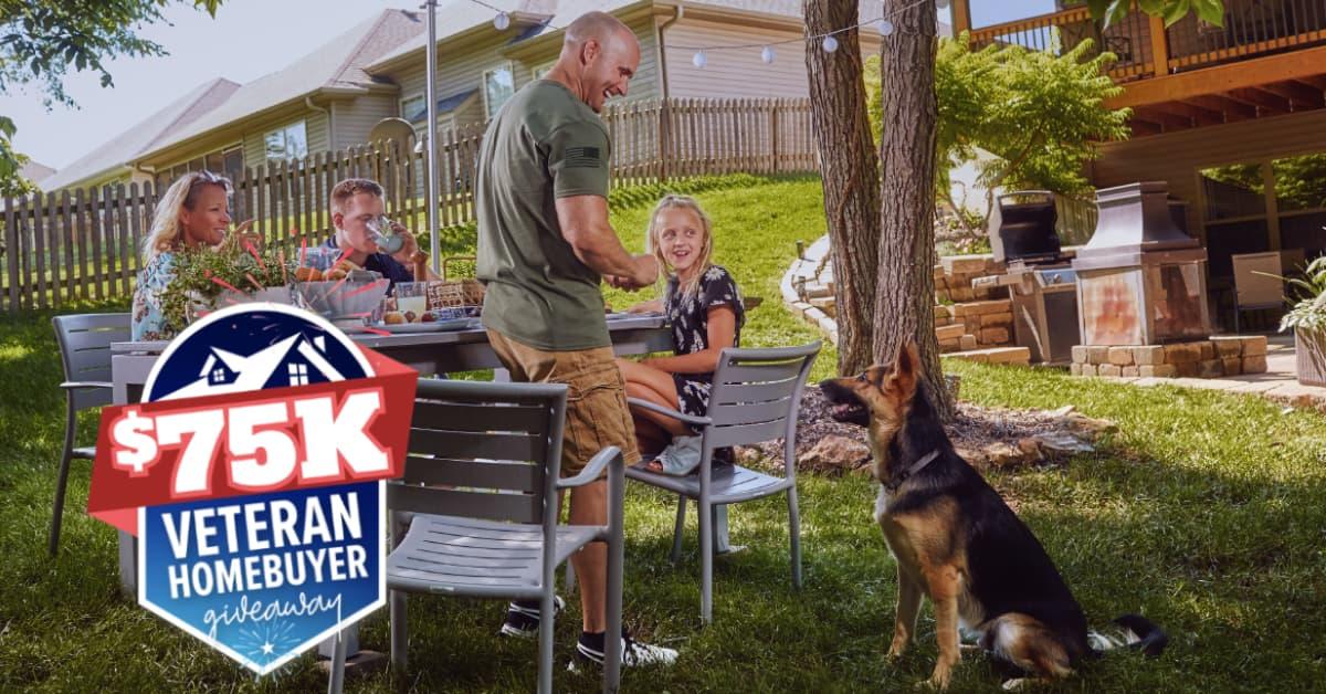 REALTOR.COM Stars, Stripes and Summer $75K Veteran Homebuyer Giveaway 2020