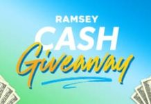 Dave Ramsey Cash Giveaway 2021