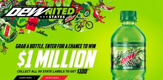 Mountain Dew DEWnited States 2020