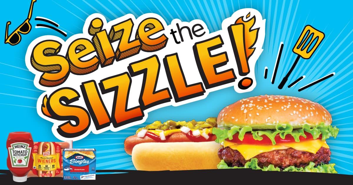 Seize the Sizzle Instant Win 2020