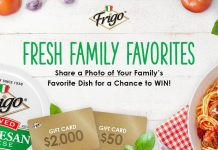 Frigo Family Favorites Contest 2020