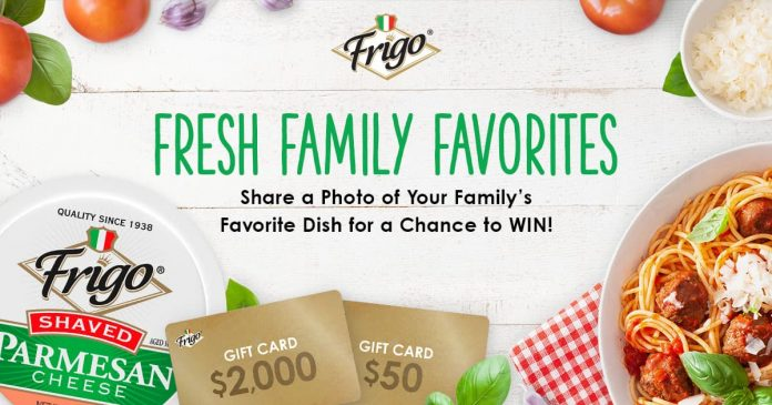 Frigo Family Favorites Contest 2020