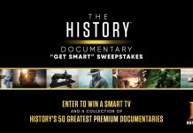 History Documentary Get Smart Sweepstakes 2020