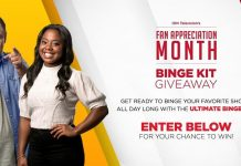 ION Television Fan Appreciation Binge Kit Giveaway 2020
