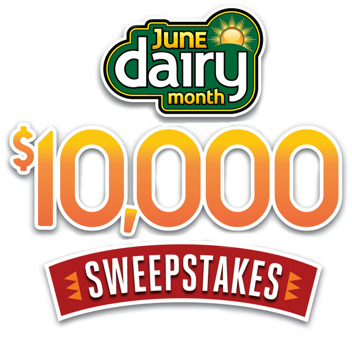 June Dairy Month $10,000 Sweepstakes 2020