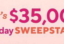 QVC $35,000 Birthday Sweepstakes 2021