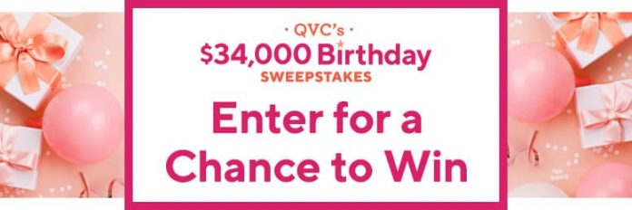 QVC $34,000 Birthday Sweepstakes 2020