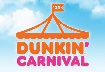 Dunkin Carnival Instant Win Sweepstakes 2021