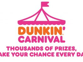 Dunkin Carnival Instant Win Sweepstakes 2020