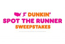 Dunkin Spot The Runner Sweepstakes 2020