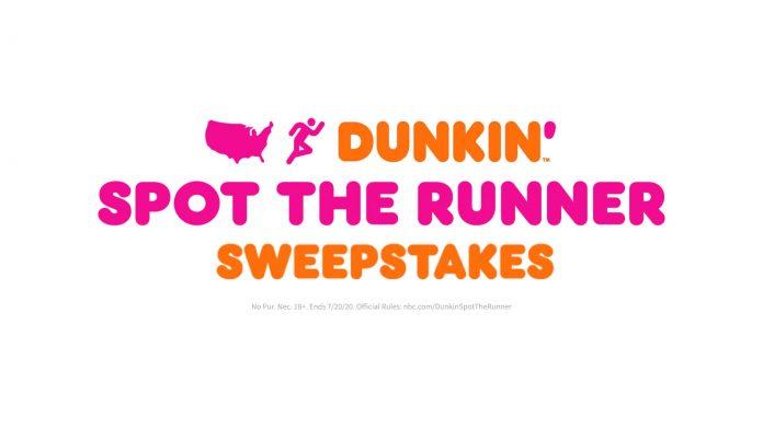 Dunkin Spot The Runner Sweepstakes 2020