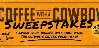 INSP.com Coffee with a Cowboy Sweepstakes 2020