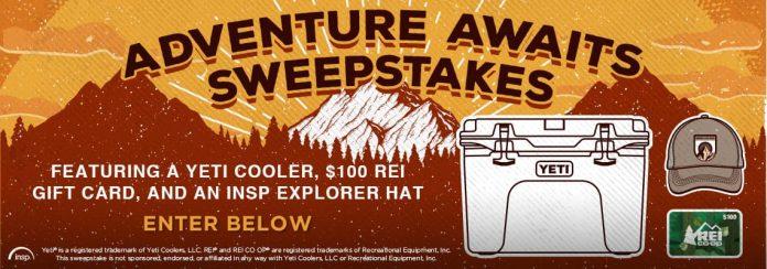 INSP.com Adventure Awaits Sweepstakes 2020
