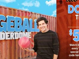 Discovery Dodgeball Thunderdome Sweepstakes 2020