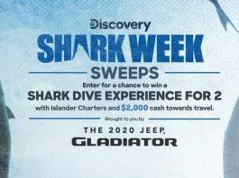 Shark Week Sweepstakes 2020