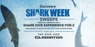 Shark Week Sweepstakes 2020
