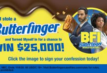 Butterfinger Turn Yourself In Sweepstakes 2020