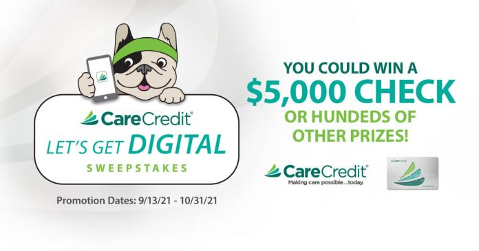Care Credit Let's Get Digital Sweepstakes 2021
