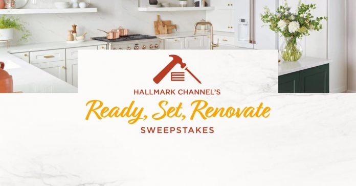 Hallmark Channel Ready Set Renovate Sweepstakes 2020