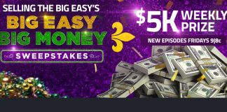 HGTV Big Easy Big Money Sweepstakes 2020