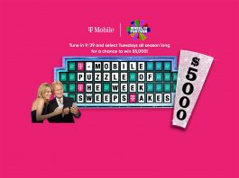 Wheel Of Fortune T-Mobile Puzzle of the Week Sweepstakes 2020