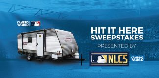 Camping World MLB Hit It Here Sweepstakes 2020
