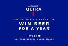 Michelob ULTRA Beer For A Year Sweepstakes 2020