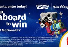 Hop Aboard to Win Sweepstakes 2020 at McDonald's