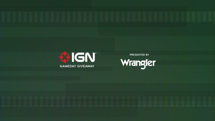 Wrangler Gameday IGN Giveaway 2020