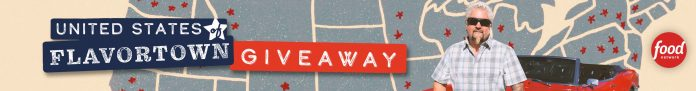Food Network United States of Flavortown Sweepstakes 2021