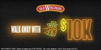 Old Wisconsin Walk Away With $10K Cash Sweepstakes 2021