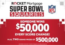 Rocket Mortgage Super Bowl Squares Sweepstakes 2021