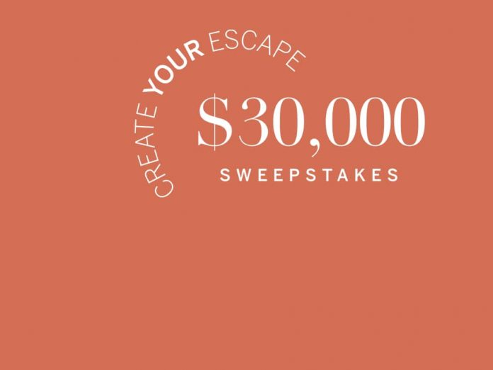 Frontgate Escape Sweepstakes 2021