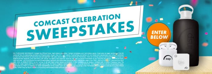 INSP Comcast Celebration Sweepstakes 2021