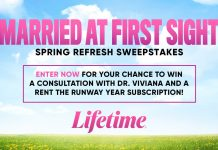 Lifetime Married At First Sight Spring Refresh Sweepstakes 2021