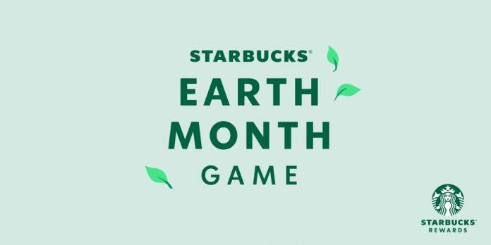 Starbucks Earth Month Game 2021