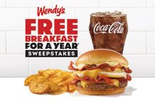 Wendy's Free Breakfast For A Year Sweepstakes 2021