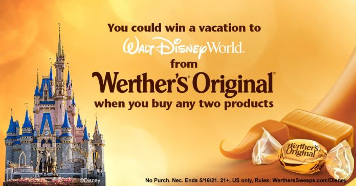 Werther's Original National Caramel Day Sweepstakes 2021