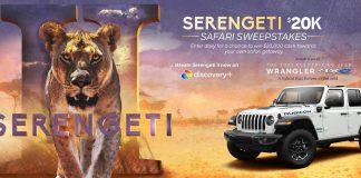 Discovery Serengeti Sweepstakes 2021