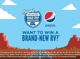 Tastiest Road Trip at Culver's Sweepstakes 2021