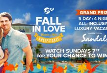 UPtv Fall In Love Watch Up And Win Sweepstakes 2021
